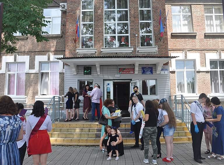 Ждет ремонта школа №68 г. Белореченска