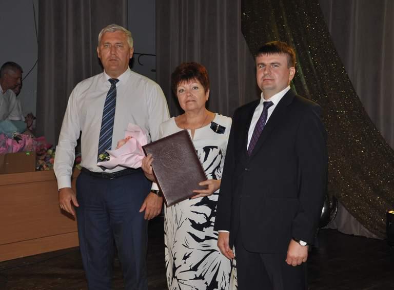 Почетной грамотой администрации Краснодарского края награждена секретарь ТИК Белореченская Римма ЛЕОНОВА