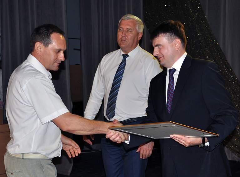 Благодарностью губернатора Кубани награжден заместитель главы Белореченского городского поселения Сергей РВАЧЕВ