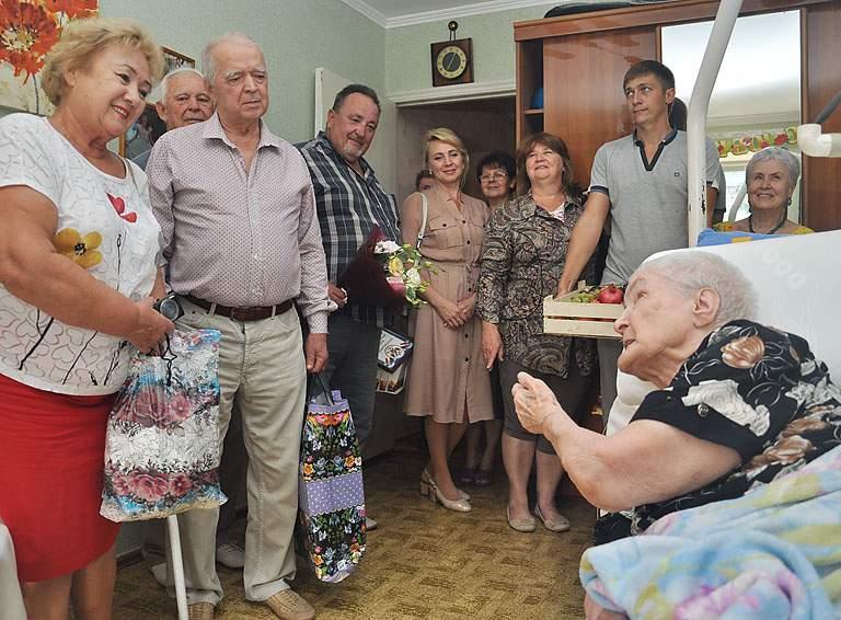 Свой вековой юбилей отметила сегодня жительница Белореченска Анастасия Рязанова, фото-1