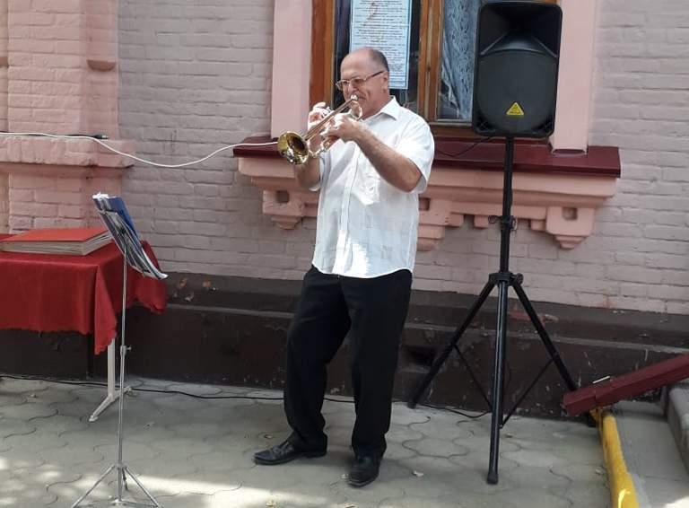 Эдуард ФИРСОВ, преподаватель по классу трубы