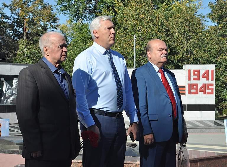 Память воинов-освободителей почтили в день освобождения Краснодарского края в парке Победы Белореченска, фото-1