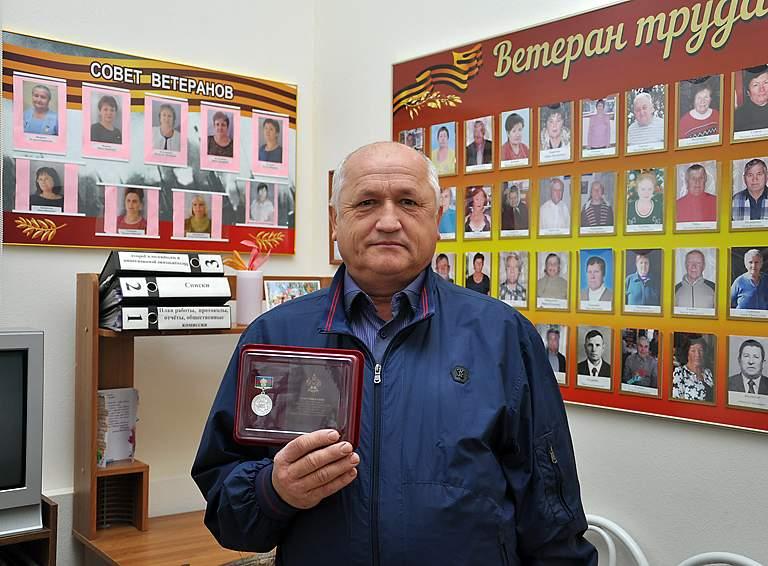 Петр МАКАРОВ, председатель ТОС №10 хутора Кубанского