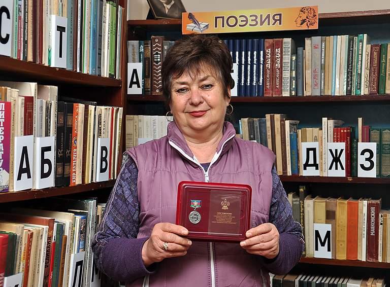 Ирина ЕФИМЕНКО, председатель ТОС посёлка Молодежного