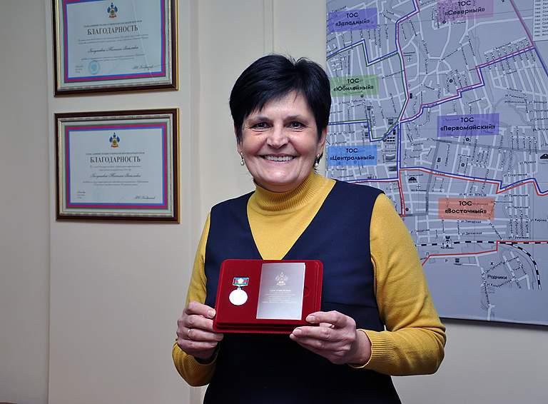 Татьяна КОЛУПАЕВА, председатель ТОС «Первомайский» г. Белореченска