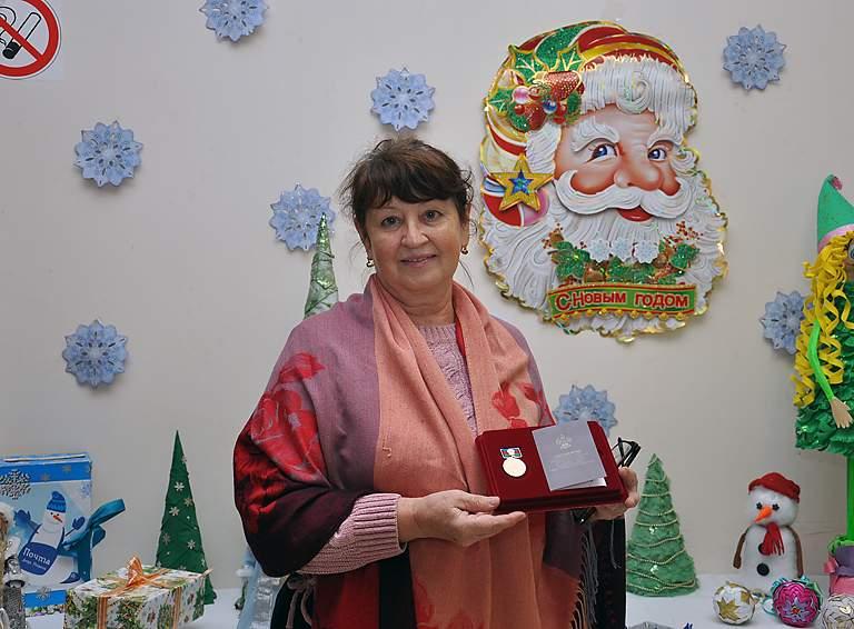 Татьяна МИРЧАНСКАЯ, председатель ТОС посёлка Степного