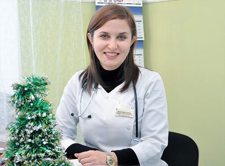 Мадина Магомедовна МАГОМЕДОВА, главный врач Рязанской участковой больницы Белореченской ЦРБ