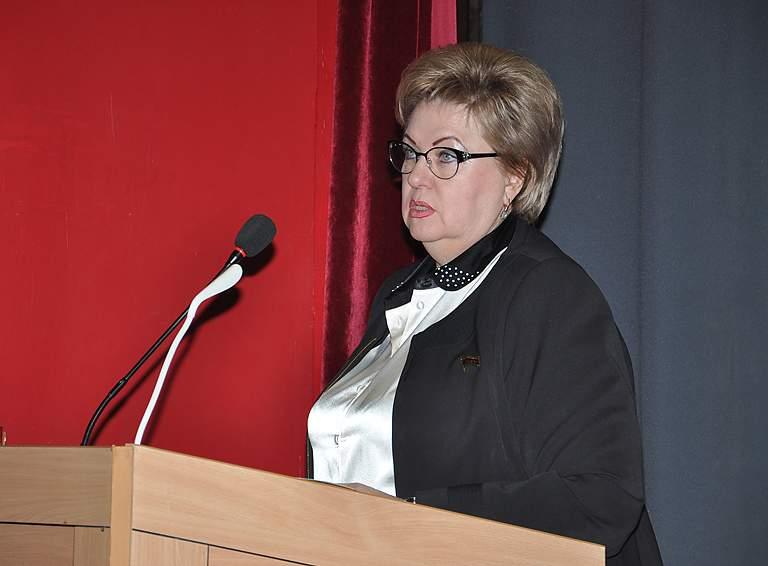 Председатель районного Совета Татьяна Марченко отчиталась о работе депутатского корпуса в 2020 году