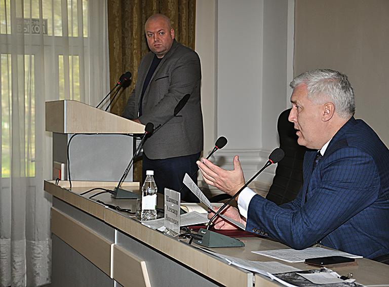 Глава Белореченского района Александр Шаповалов
