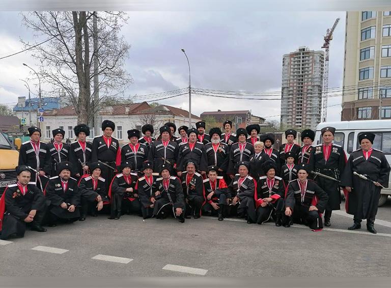 Делегация Белореченского РКО