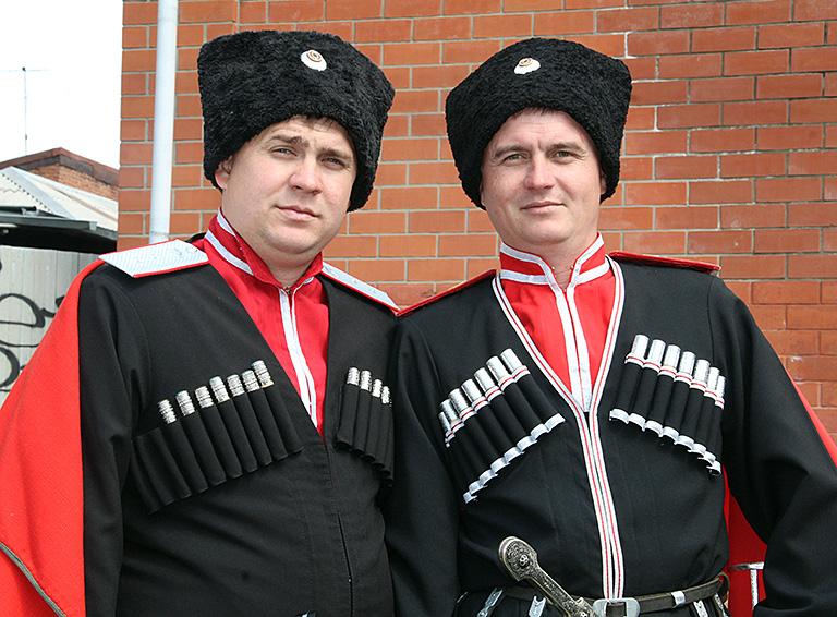 Братья-казаки Натаровы