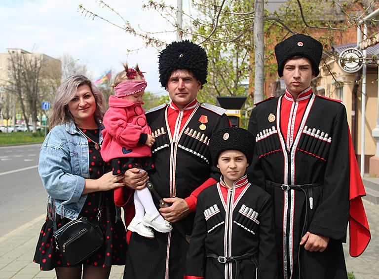 Семья казаков Селивановых