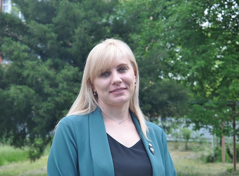 Педагог-психолог школы №68 Жанна Динивизюк