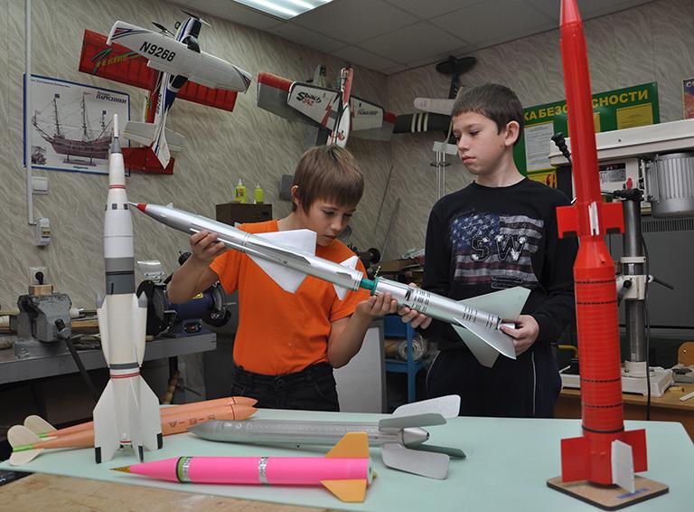 У белореченских ребят есть возможность заниматься не только техническим творчеством,  но и художественным, естественнонаучным и социально-гуманитарным