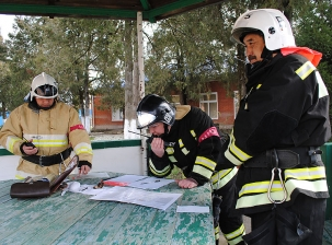 Командно-штабные пожарно-тактические учения