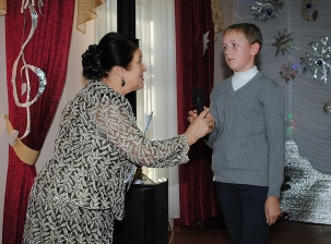 Вручение грантов талантливым и одаренным детям