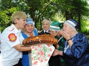 Белореченские казаки организовали традиционный праздник для людей с ограниченными возможностями