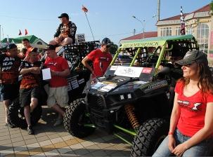 Торжественное открытие I этапа крупнейшей квадрогонки страны Can-Am Х Raceв Белореченске